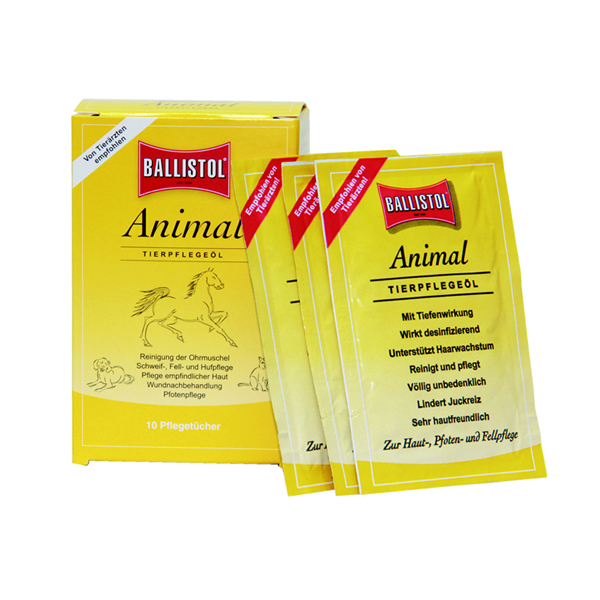 ballistol animal cloth sachets box of 10