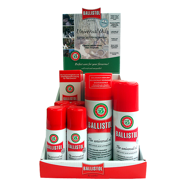 ballistol retail display bundle